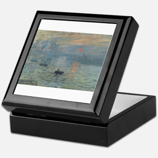 Claude Monet's Impression, Soleil Lev Keepsake Box
