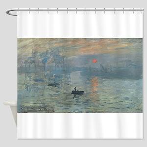 Claude Monet's Impression, Soleil L Shower Curtain