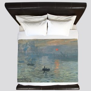 Claude Monet's Impression, Soleil Levan King Duvet