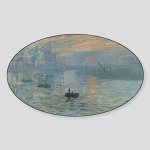 Claude Monet's Impression, Soleil Levant Sticker