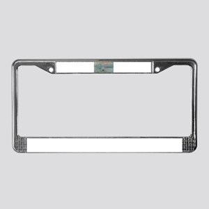 Claude Monet's Impression, Sol License Plate Frame