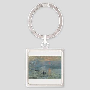 Claude Monet's Impression, Soleil Levant Keychains
