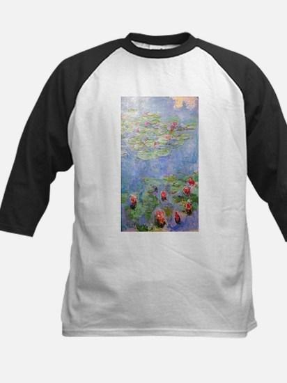Claude Monet's Water Lilies Baseball Jersey
