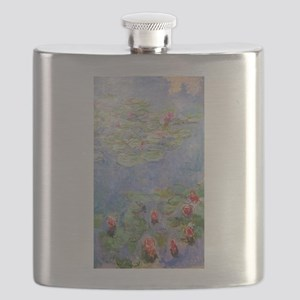 Claude Monet's Water Lilies Flask