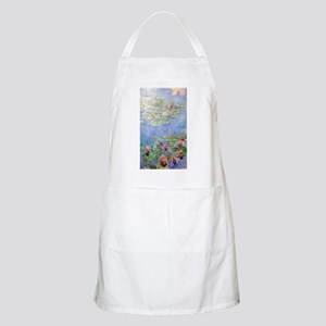 Claude Monet's Water Lilies Apron