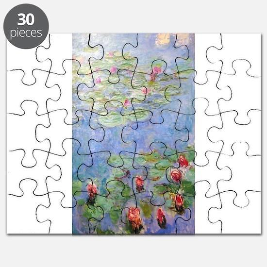 Claude Monet's Water Lilies Puzzle