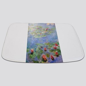 Claude Monet's Water Lilies Bathmat