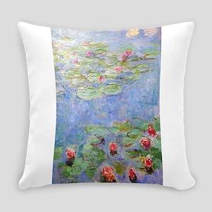 Claude Monet's Water Lilies Everyday Pillow
