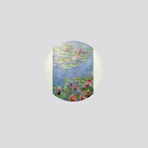 Claude Monet's Water Lilies Mini Button