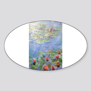 Claude Monet's Water Lilies Sticker