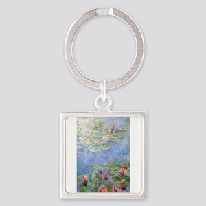 Claude Monet's Water Lilies Keychains