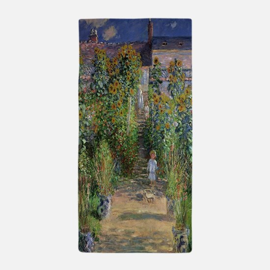 Claude monet Beach Towel