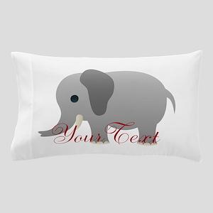 Elephant Personalize Pillow Case