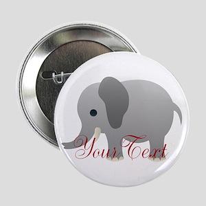 "Elephant Personalize 2.25"" Button"