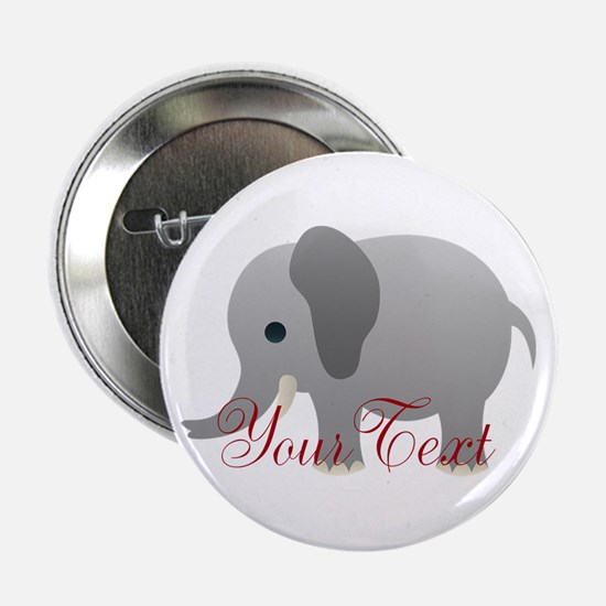 "Elephant Personalize 2.25"" Button"
