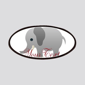 Elephant Personalize Patch
