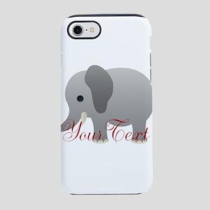 Elephant Personalize iPhone 8/7 Tough Case