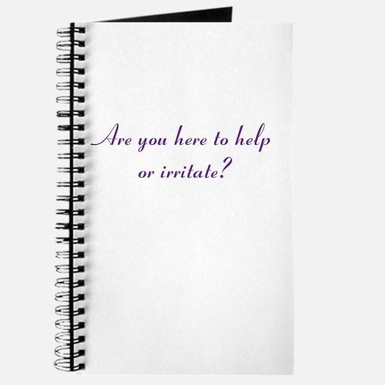 Help or Hinder Journal