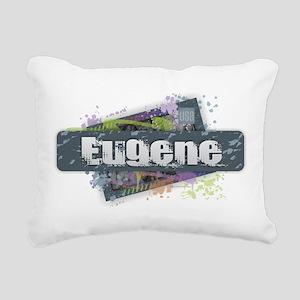 Eugene Design Rectangular Canvas Pillow