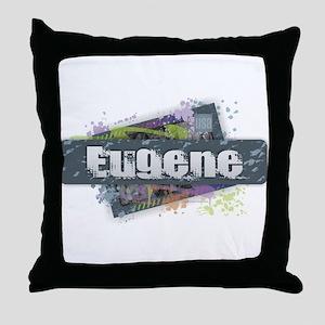 Eugene Design Throw Pillow