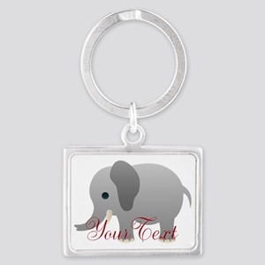 Elephant Personalize Keychains