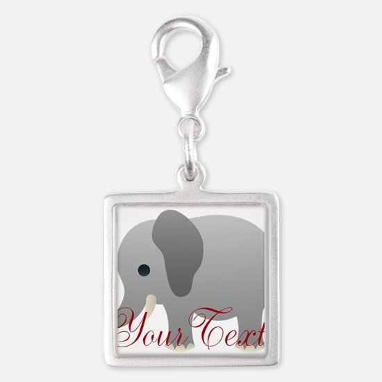 Elephant Personalize Charms