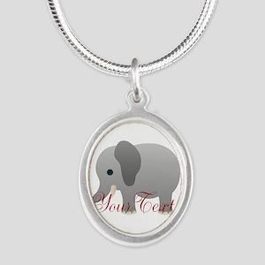 Elephant Personalize Necklaces