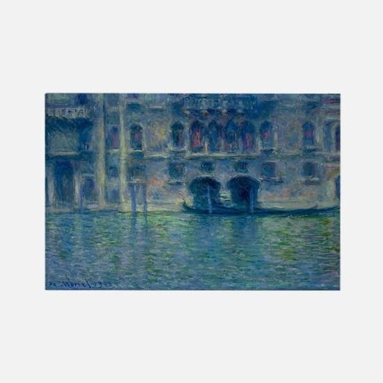 Claude Monet's Palazzo da Mula in Venice Magnets