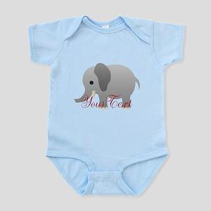 Elephant Personalize Body Suit