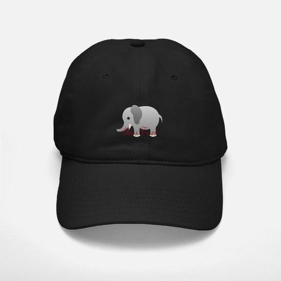Elephant Personalize Baseball Baseball Hat