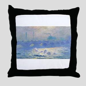 Claude Monet's Impression, Soleil Lev Throw Pillow