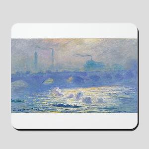 Claude Monet's Impression, Soleil Levant Mousepad
