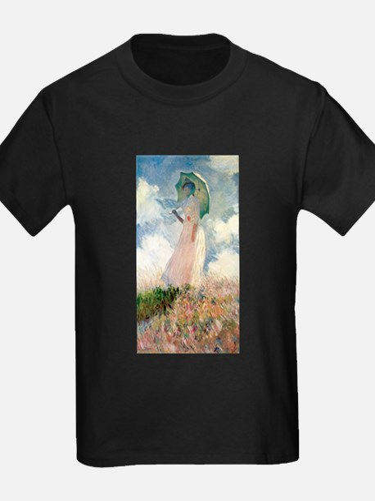 Claude Monet's Woman with a Parasol, Study T-Shirt