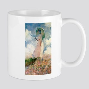 Claude Monet's Woman with a Parasol, Study Mugs