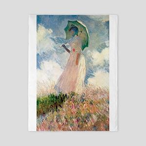Claude Monet's Woman with a Parasol, St Twin Duvet