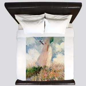 Claude Monet's Woman with a Parasol, St King Duvet