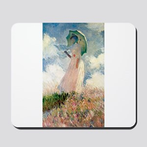 Claude Monet's Woman with a Parasol, Stu Mousepad