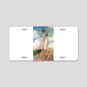 Claude Monet's Woman with a Aluminum License Plate