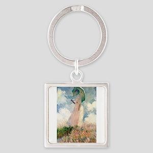 Claude Monet's Woman with a Parasol, Stu Keychains