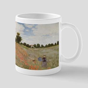 Claude Monet's Coquelicots, La Promnade (Popp Mugs