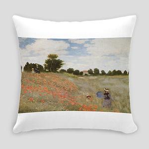 Claude Monet's Coquelicots, La Pro Everyday Pillow
