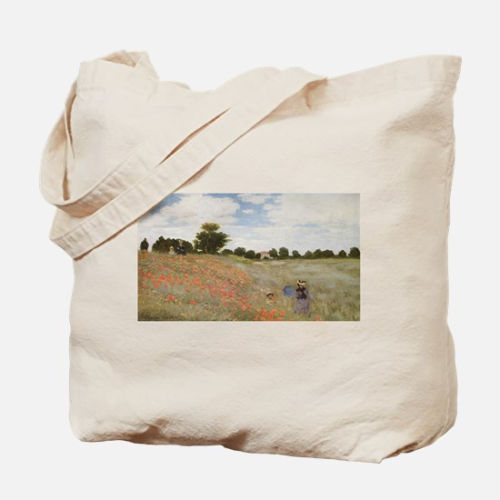 Claude Monet's Coquelicots, La Promnade ( Tote Bag
