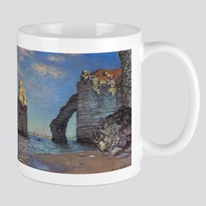 Claude Monet's The Cliffs at Etretat Mugs