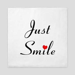 Just Smile Queen Duvet