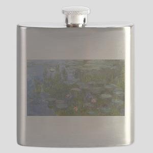 Claude Monet's Nympheas Flask
