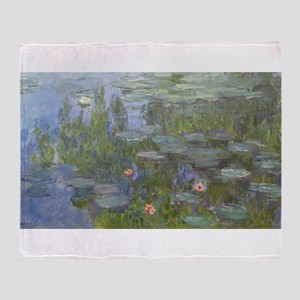 Claude Monet's Nympheas Throw Blanket