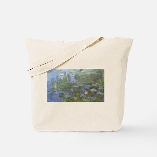 Claude Monet's Nympheas Tote Bag