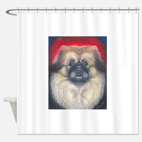 Fozy 8x10.png Shower Curtain