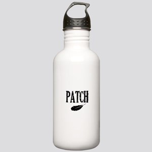 patch with feather trans Water Bottle