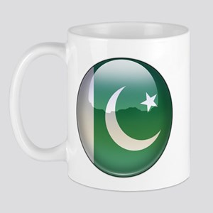Pakistan Flag Jewel Mug